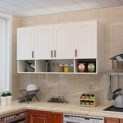 夢引 歐式玻璃吊柜廚房墻壁掛柜陽臺儲物浴室收納衛生間柜玻璃柜防潮