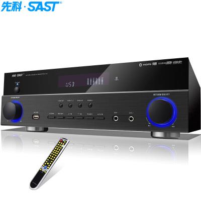 先科(SAST)5.1聲道家庭影院功放機支持藍牙HDMI接口4k高清家用音響電視音響放大器AV功放SU-110