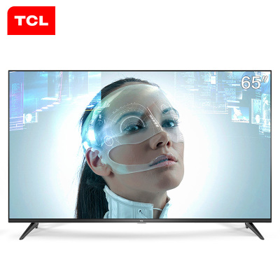 TCL 65A730U 65英寸4K超高清智能 HDR全面屏 金属背板LED液晶电视机