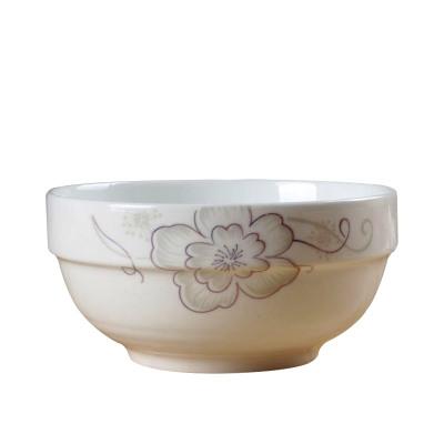 LICHEN陶瓷碗大号米饭碗景德镇餐具6英寸面碗