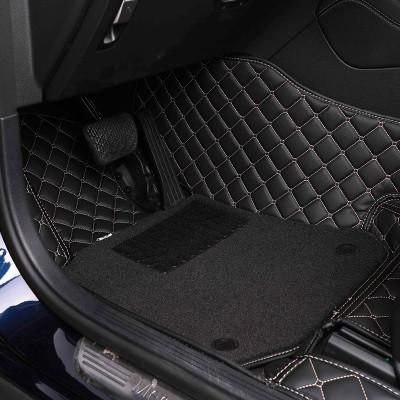 小米生態鏈 邁未全包圍汽車腳墊雙層絨面絲圈大包圍地墊 寶馬奧迪大眾本田專車專用定制版 五座車型 TN-QT01 雙層黑色