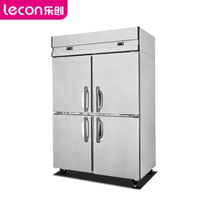 樂創(lecon)商用四門冰箱 雙溫保鮮冰柜 LC-J-BX04