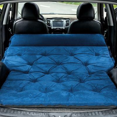 車載充氣床汽車床墊旅行床后排氣墊后備箱睡墊自駕游自動充氣車墊
