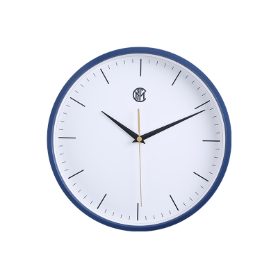 國際米蘭INTER CASA靜音掛鐘客廳鐘表簡約大氣北歐風家用創意個性石英鐘