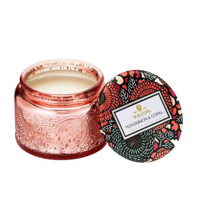voluspa小浮雕杯香薰蠟燭 柿子樹與柯巴