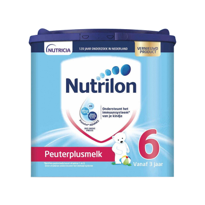 Nutrilon 荷蘭牛欄 諾優能 奶粉 6段(3周歲以上)400g 保質期21.7及以后 保稅倉發貨
