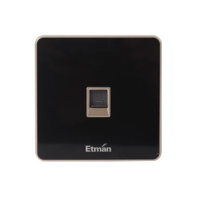 英特曼S3系列插座 单联电脑插座 S3PC01-B