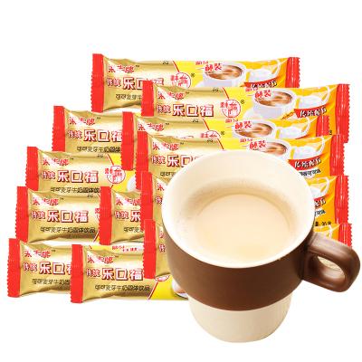 【20條】梁豐牌傳統配方樂口福可可味袋裝散裝80后懷舊零食香濃30g*20包