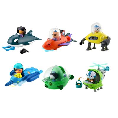 费雪T7017-CUP-B海底小纵队舰艇套装早教洗浴儿童戏水玩具