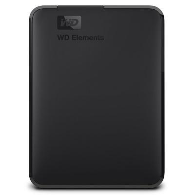 西部數據Elements Portable新元素系列2.5英寸USB3.0移動硬盤1TB(WDBUZG0010BBK)