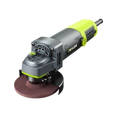 芝浦(ZHIPU)多功能工業級角磨機家用磨光手磨機打磨切割機手砂輪電動工具 【1500W】加強版 壕華套