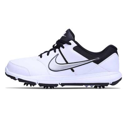 NIKEGOLF耐克高爾夫球鞋高爾夫鞋子男士844551-100帶釘高爾夫男鞋