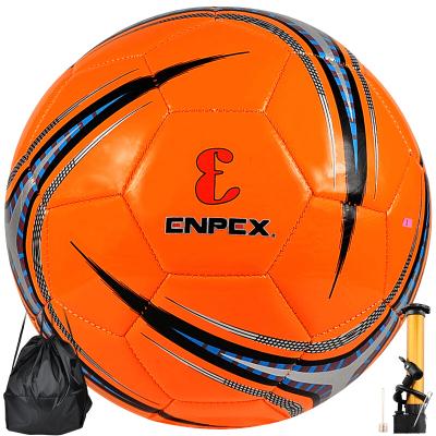 樂士ENPEX足球PU皮訓練比賽足球機縫5號成人足球FS003