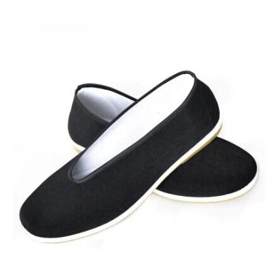 古裝鞋子單鞋男士布鞋中式布鞋古代男女鞋戲曲演出黑布鞋北京布鞋