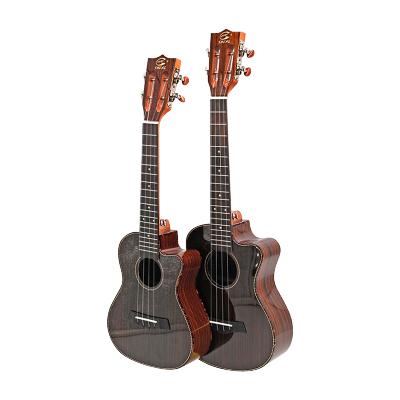 蘇錫琴坊 23寸26寸尤克里里 ukulele烏克麗麗玫瑰木亮光缺角尤克里里四弦琴小吉他 成人學生初學者通用