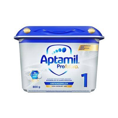 【匠心品質】海外Aptamil 德國愛他美 白金版HMO 安心罐 嬰幼兒配方奶粉 1段(0~6個月)800g/罐