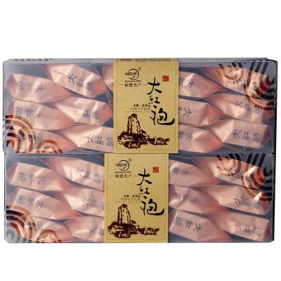 閩中秀 瑞茗 武夷山巖茶 中足火濃香型 大紅袍茶葉 PET盒裝禮品茶 160克