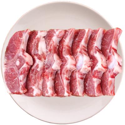 塞上灘 羊蝎子新鮮脊骨1000g寧夏鹽池灘羊蝴蝶排羊蝎子火鍋綿羊生鮮肉