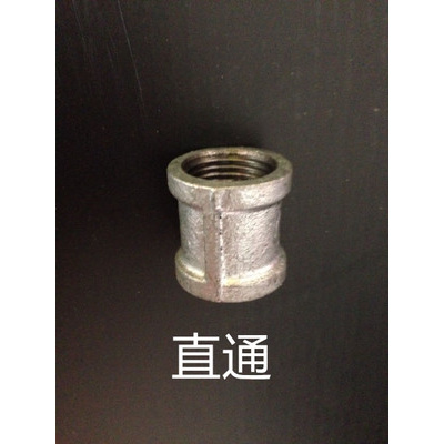 自來水管配件鍍鋅瑪鋼鐵CIAA接頭4分DN15立體四通 外接 直通 彎頭三通 4分直通