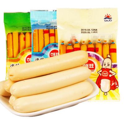 海牌小力士鱼肠(原味)80*3韩国进口鳕鱼肠火腿肠宝宝儿童休闲零食