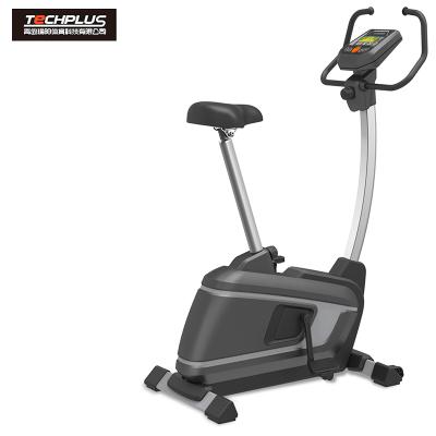 美国瑜阳TECHPLUS轻商用直立式健身车健身房专用动感单车PB201静音运动健身器材 免费送装