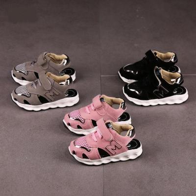 夏季凉鞋1-6岁中大童凉鞋宝宝网面透气鞋男童沙滩鞋女童凉鞋中小童