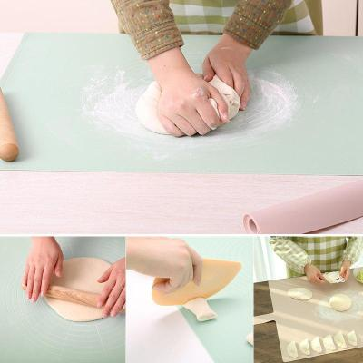 硅膠面板日本揉面墊大號加厚防滑不沾案板耐高溫烘焙墊子搟面板
