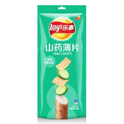 乐事 山药薄片 清新黄瓜味 80g/袋 休闲零食