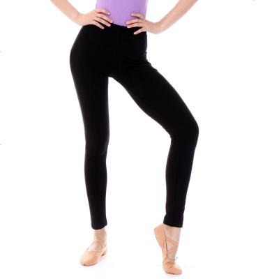 丹诗戈芭蕾裤 舞蹈练功裤成人女紧身健美操打底裤棉九分裤健身裤