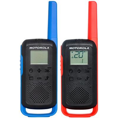 【兩只裝】摩托羅拉(MOTOROLA)T62公眾對講機免執照 USB充電