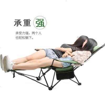 戶外折疊躺椅子便攜式靠背釣魚椅露營折疊椅休閑凳午睡床椅沙灘椅