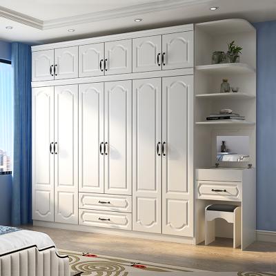 衣柜衣橱储物柜子收纳柜实木质卧室家具简易衣柜五六欧式挂衣橱