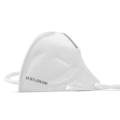 【歐盟認證 韻達發貨】成人KN95防護面罩 自吸式防顆粒物呼吸器 N95防霧霾飛沫病菌口鼻罩 5只裝