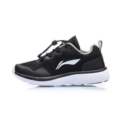 李宁童鞋休闲鞋男大童7-12岁2019新款青少年夏季网面透气运动鞋