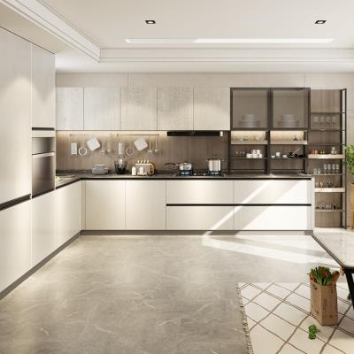 皮阿諾整體櫥柜 定制廚房全屋裝修石英石臺面廚柜定制開放經濟型
