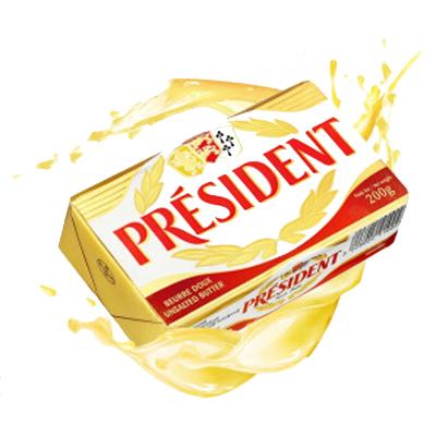 总统牌脱盐黄油块200g