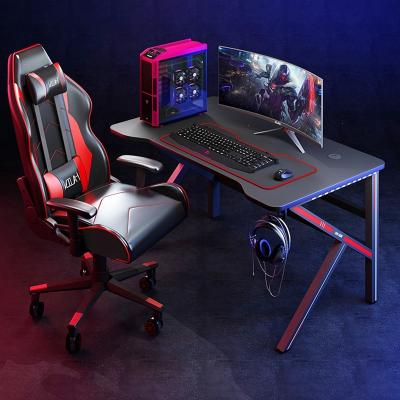 電競桌臺式電腦桌古達家用簡易書桌辦公桌游戲電競桌椅組合套裝桌子