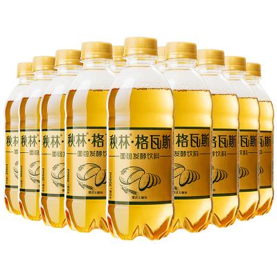 飲料 秋林格瓦斯面包乳酸菌發酵飲料 哈爾濱特產350ml*12瓶