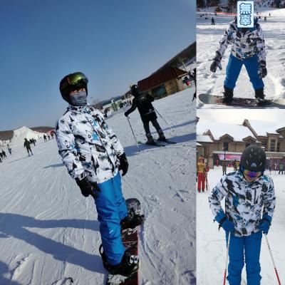 魅扣 滑雪服 男 套装单双板防水韩国大码冬季加厚户外东北旅游滑雪装备