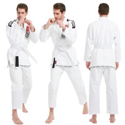 巴西柔术道服防磨衣男女专业训练柔术服勇士经典成人款加厚