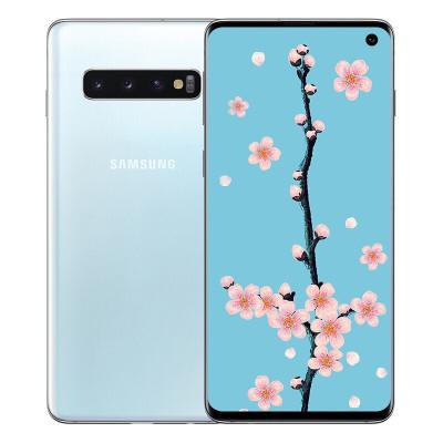 【龙8国际pt老虎机二手9新】Samsung/三星 Galaxy S10 二手安卓手机 皓玉白 8+512GB 全网通