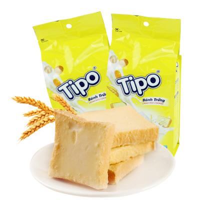 越南进口tipo面包干牛奶味135g*2袋270g免邮早餐白巧克力办公室零食