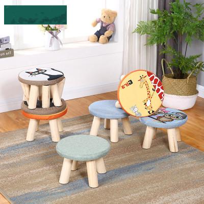 小木凳子實木家用小板凳時尚換鞋凳圓凳成人沙發凳矮凳子創意小椅子客廳木質巧媽邦簡約現代