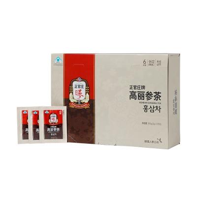 正官庄高丽参茶3g*100包/盒(300g) 韩国 人参制品 冲泡颗粒 休闲滋补