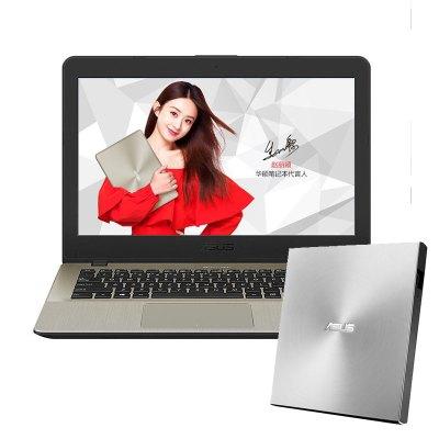 【套餐】华硕顽石(ASUS)畅玩版F442UR8250 14.0英寸笔记本+华硕8倍速 USB2.15 外置DVD刻录机