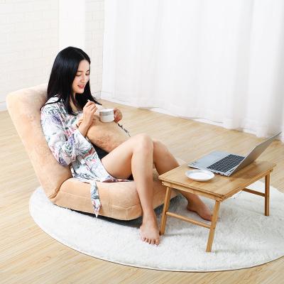 唐臻懶人沙發榻榻米可折疊單人臥室床上懶人椅寢室電腦椅飄窗靠背椅軟
