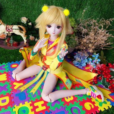 正品葉羅麗娃娃仙子全套60厘米精靈夢夜蘿麗女孩玩具亮彩02版