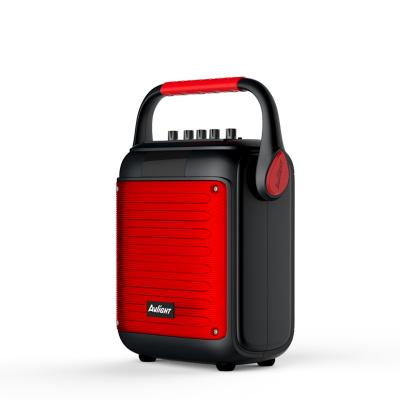 愛浪(Avlight)G6 手提式廣場舞音響戶外便攜式一體機話筒K歌移動無線藍牙音箱 紅色