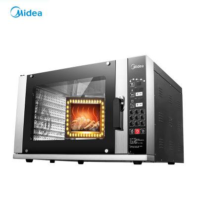 Midea/美的商用電烤箱MF-X120LA霧化加濕120升背部熱風風爐