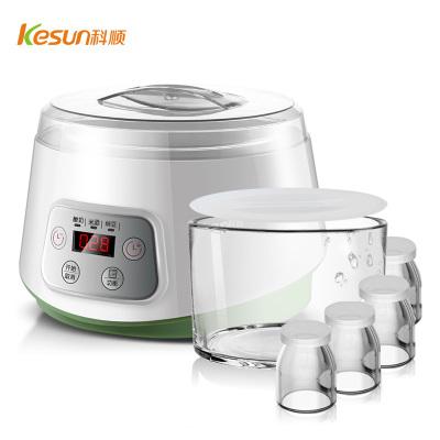 科順(KESUN)酸奶機家用全自動大容量發酵機玻璃內膽米酒納豆機